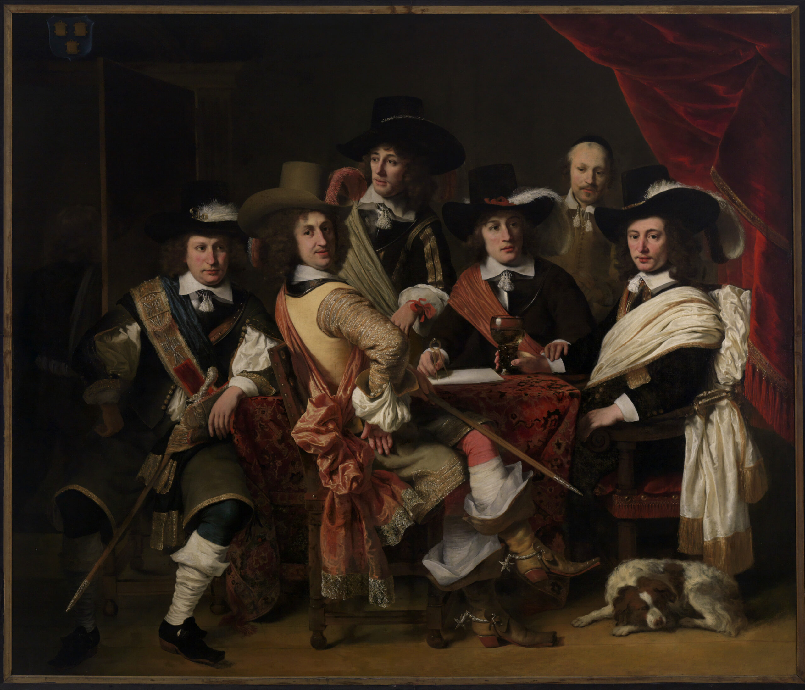 Ferdinand Bol (1616-1680), <em>The council of the Gouda militia under the command of colonel Govert Suijs</em>, 1653<br>Museum Gouda, Gouda