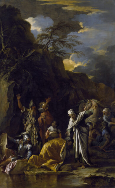 Salvator Rosa (1615-1673), The Baptism of the Eunuch, ca. 1660The Chrysler Museum of Art, Norfolk, VA. Gift of Walter P. Chrysler, Jr.