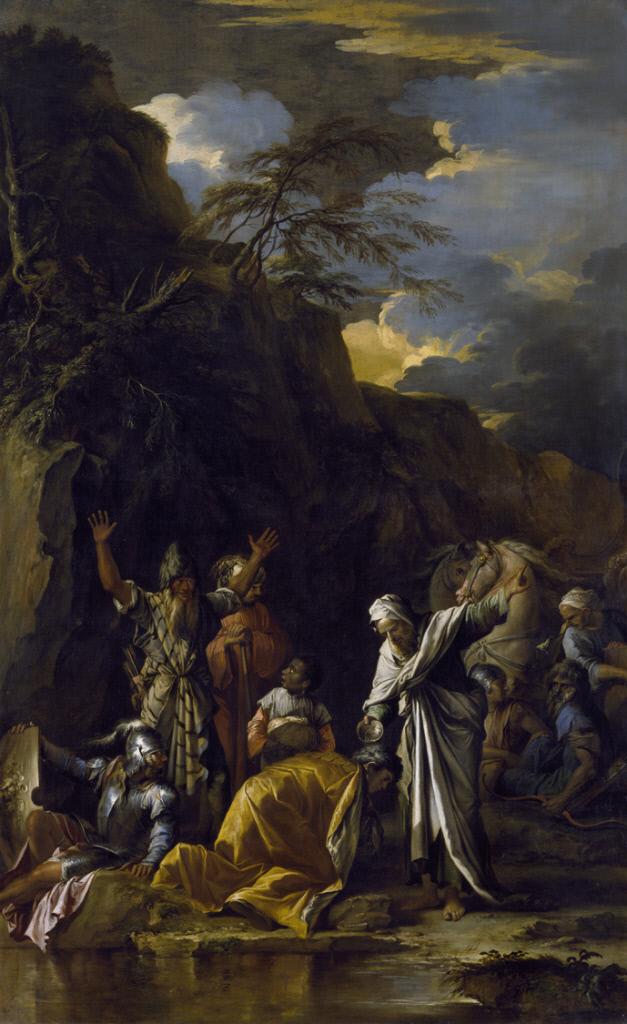 Salvator Rosa (1615-1673), The Baptism of the Eunuch, ca. 1660The Chrysler Museum of Art, Norfolk, VA. Gift of Walter P. Chrysler, Jr.