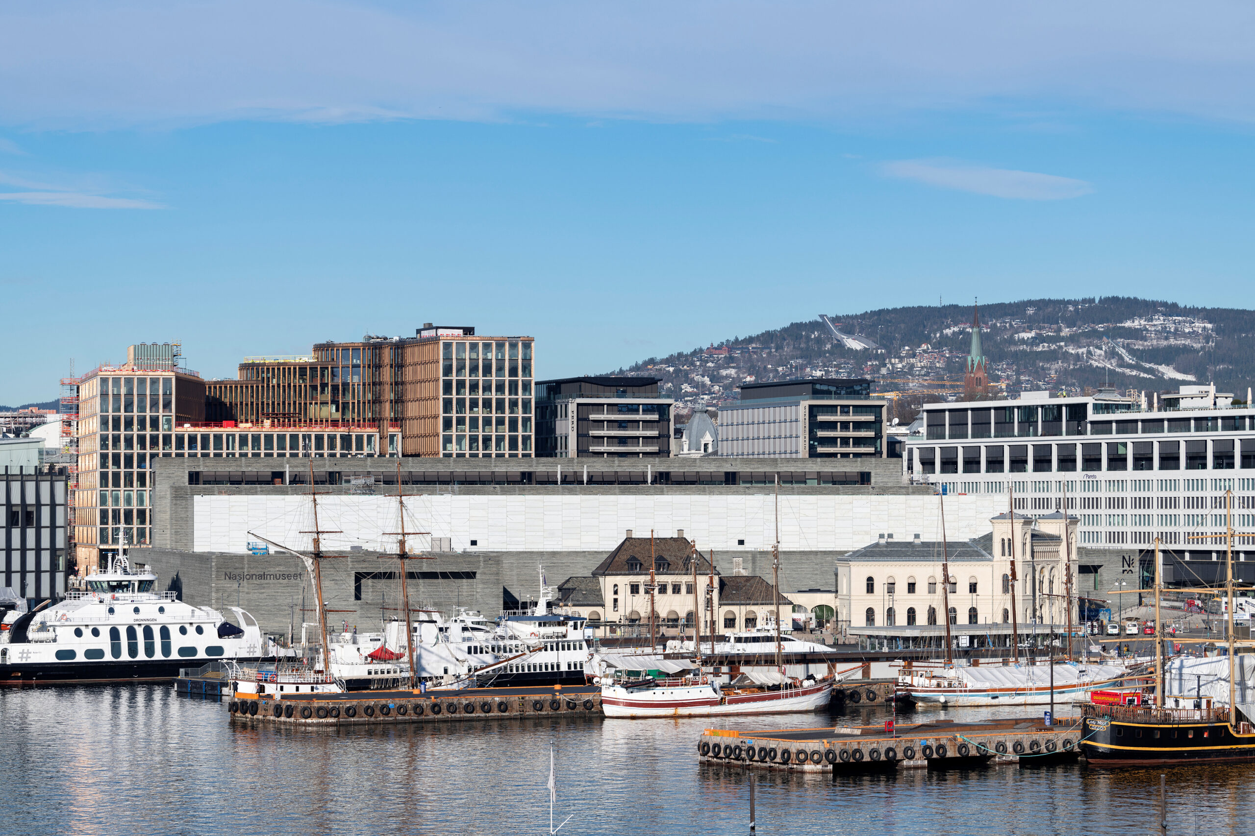 1. Nasjonalmuseet in February 2021<br>Photo: Frode Larsen