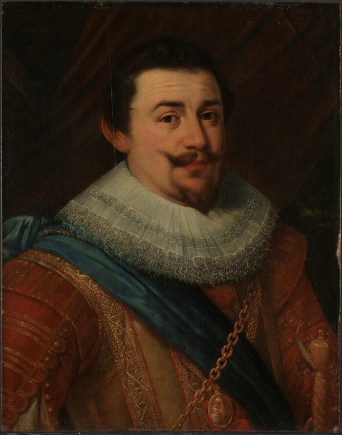 8. Unidentified artist, Portrait of a man, 1620sNasjonalmuseet, Oslo (NG.M.00073) photo: Frode Larsen