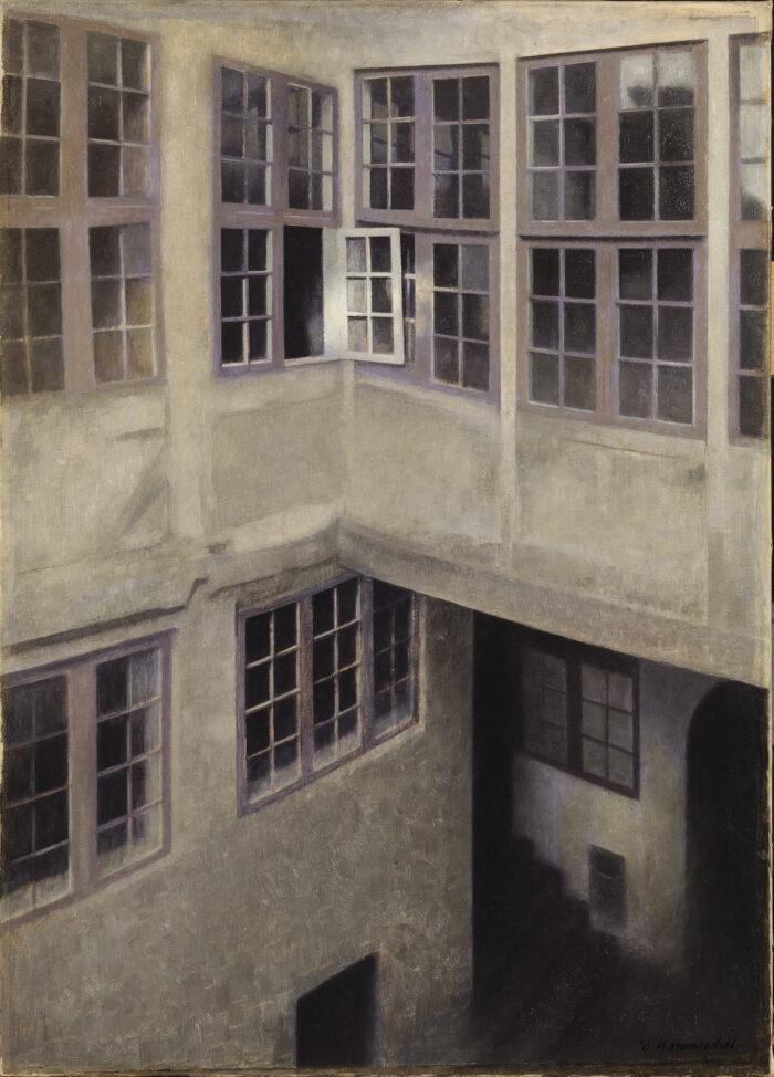 Vilhelm Hammershøi (1864-1916), Interior of Courtyard, Strandgade 30 , 1899Toledo Museum of Art, Toledo (Gift of The Georgia Welles Apollo Society)