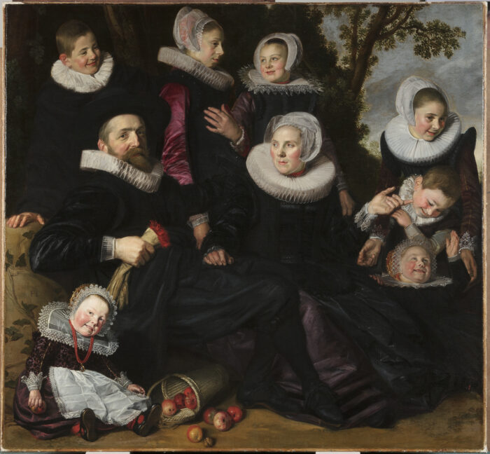Frans Hals (ca. 1581-1666), Van Campen Family Portrait in a Landscape, early 1620s Toledo Museum of Art, Toledo (Purchased with funds from the Florence Scott Libbey Bequest in Memory of her Father, Maurice A. Scott, and the Libbey Endowment, Gift of Edward Drummond Libbey, Bequest of Jill Ford Murray, and Gift of Mrs. Samuel A. Peck, Mrs. C. Lockhart McKelvy, and Mr. and Mrs. Frederick S. Ford, by exchange)