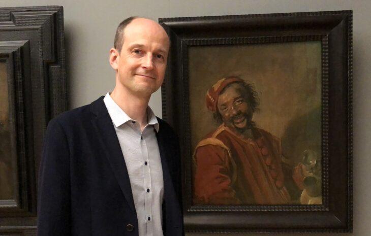 Justus Lange next to Frans Hals' Peeckelhaering of ca. 1628-30