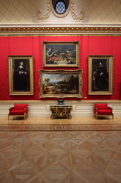 3. The Rainbow Landscape on the north wall of the Great Gallery, Hertford House © The Wallace Collection, London