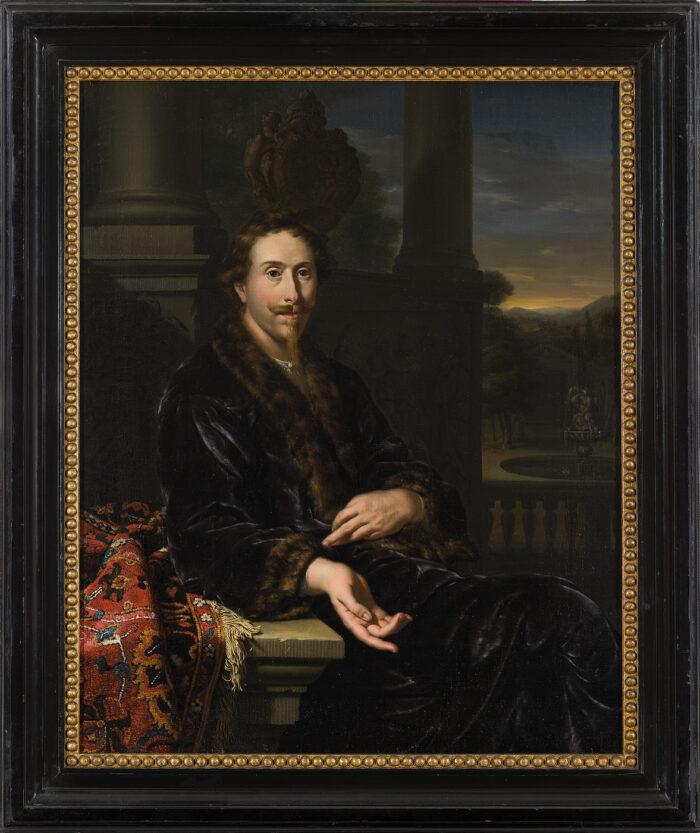Jan van Mieris (1660-1690), Portrait of Willem Backer, 1682Amsterdam Museum, on loan from the Backer Stichting
