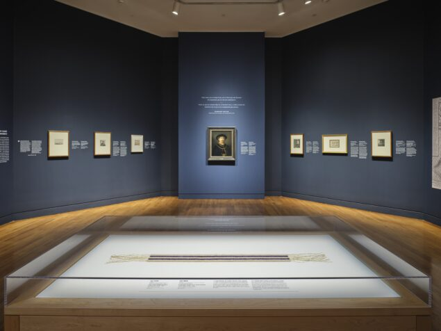 Installation view of <em>Rembrandt in Amsterdam: Creativity and Competition</em>, National Gallery of Canada, Ottawa. Photo: NGC