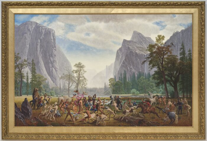 7. Kent Monkman (1965), The Triumph of Mischief, 2007, acrylic on canvas, 213 × 335 cm. National Gallery of Canada, Ottawa. Purchased 2008. ©Kent Monkman Photo: NGC