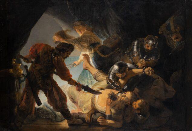 Rembrandt van Rijn (1606-1669), The Blinding of Samson, 1636. Oil on canvas, 219.3 × 305 cm, Städel Museum, Frankfurt am Main (inv.no.1383) Photo: CC BY-SA 4.0 Städel Museum, Frankfurt am Main