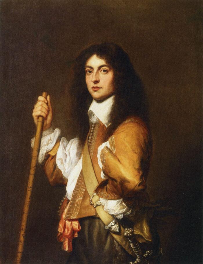 Jan Lievens (1607–1674), Portrait of Adriaen Trip, 1644. Oil on canvas, 107.5 × 83.5 cm. Rembrandt House Museum, Amsterdam Photo: Rembrandt House Museum, Amsterdam